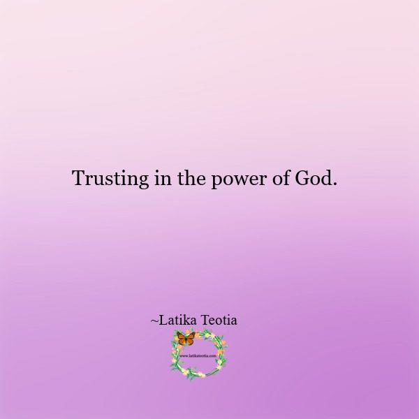 Moving forward in faith !!!