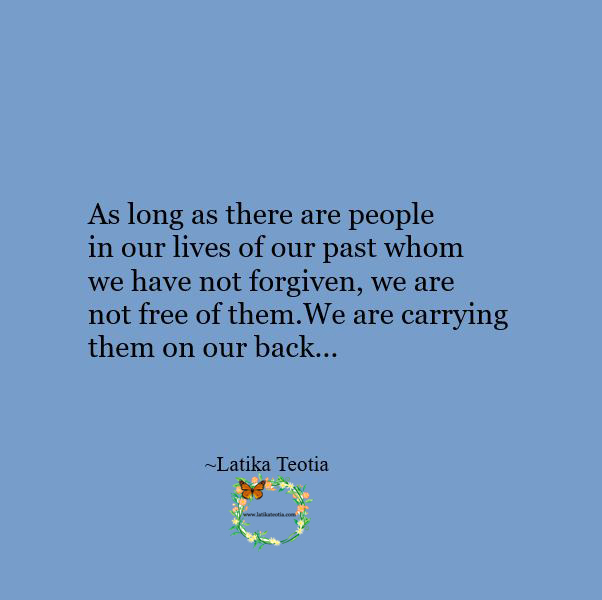 A better way to live peacefully is to constantly forgive !!!