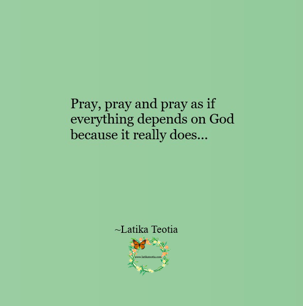 Power of prayer !!!